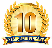 Web Wiz 10 Year Anniversary