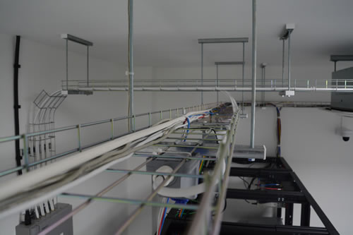 Data Centre Overhead Cabling Trays
