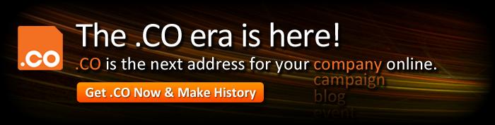.CO Domain Names Registrations
