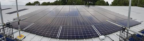 Data Centre Solar Panel Array